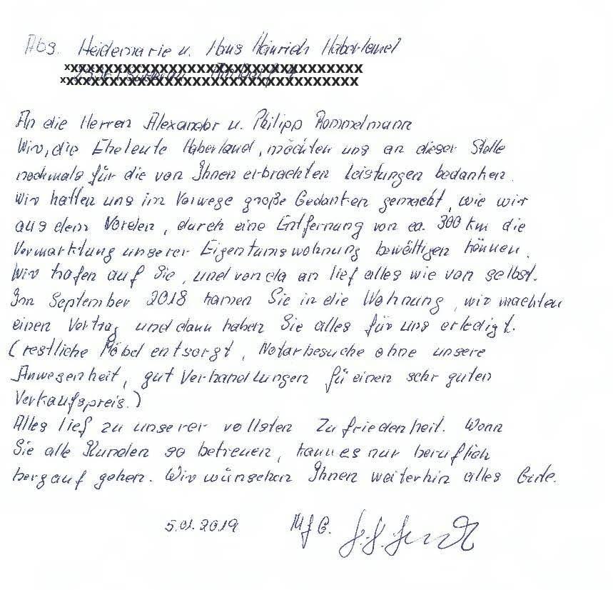 Referenz Haberland