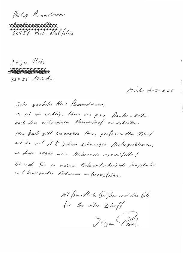 Referenz Rommelmann Immobilien Minden Porta Westfalica