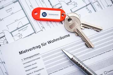 Mietvertrag für Immobilie in Hannover