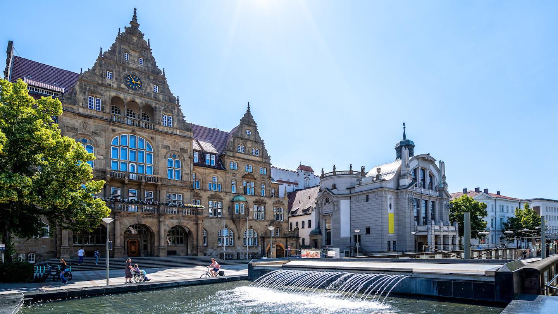Bielefeld für die Geschäftstätigkeit des Immobilienmakler