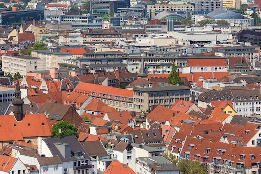 Bielefeld Luftaufnahme